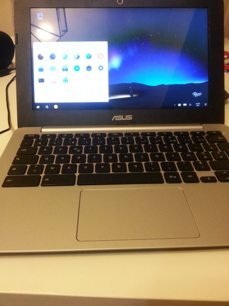 Remix OS on a chromebook